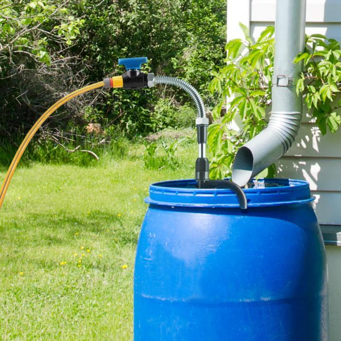 Easy Rain Regenfass-Pumpe Tauchpumpe Schmutzwasserpumpe 5200 l/h IPX 8
