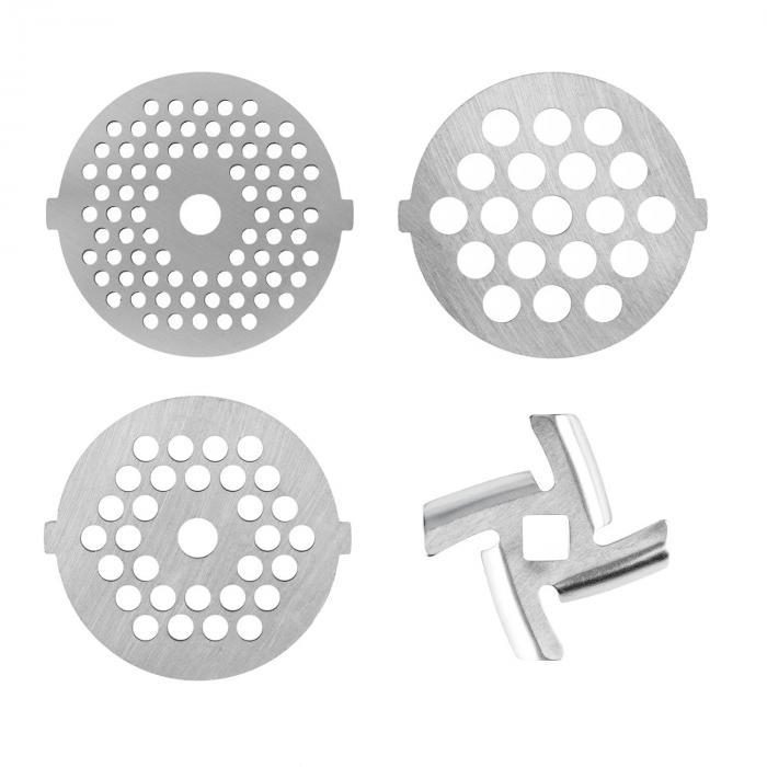 4 Pezzi Set di Stampi con Fori per il Robot da Cucina Lucia 3-4,5-7mm