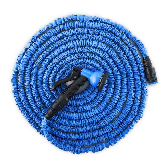 Water Wizard 15 flexibele tuinslang 8 functies 15 m blauw
