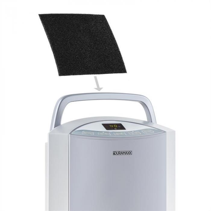 Klarstein Filtro ai Carboni Attivi di Ricambio per Deumidificatore Drybest 22x24 cm