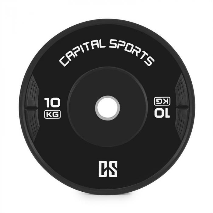 Elongate Bumper Plate Dischi Peso Gomma 2x 10kg