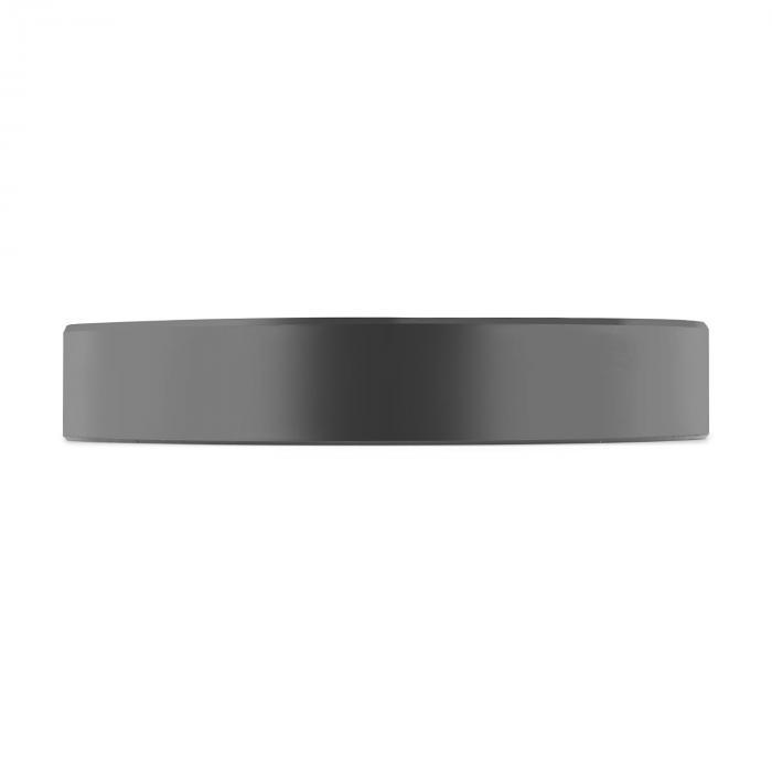Elongate bumper plate gewichtsschijf rubber 25kg