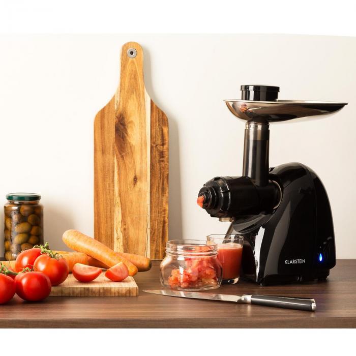 Vampir Tomato Gemüsepresse Passieraufsatz schwarz