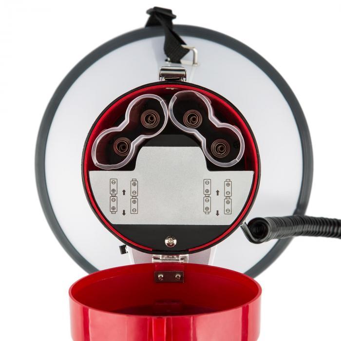 80W Megáfono MEGA080USB Reproductor de MP3 Función USB Grabadora 700m Rojo