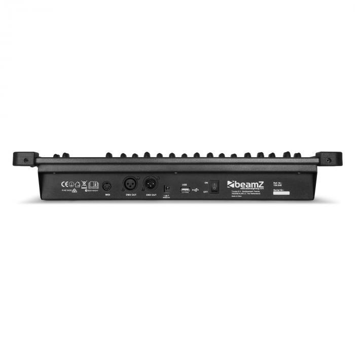 DMX384 DMX-ohjain, 348 kanavaa, MIDI USB