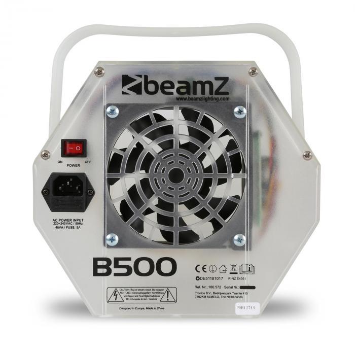 B500LED Macchina per Bolle di Sapone LED RGB