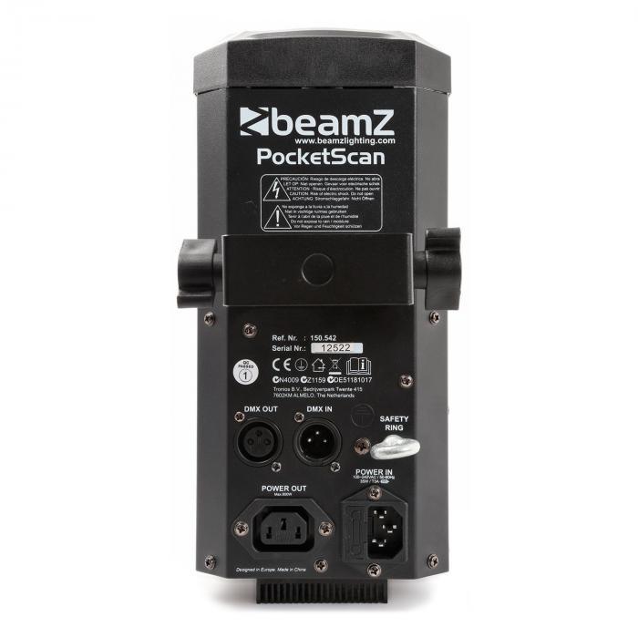 PocketScan 12W-CREE-LED 7 Colori 7 Gobos DMX