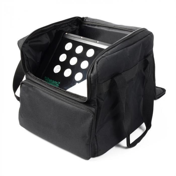 ATP-125 pinottava soft case-kuljetuslaukku 33x35,5x33cm musta