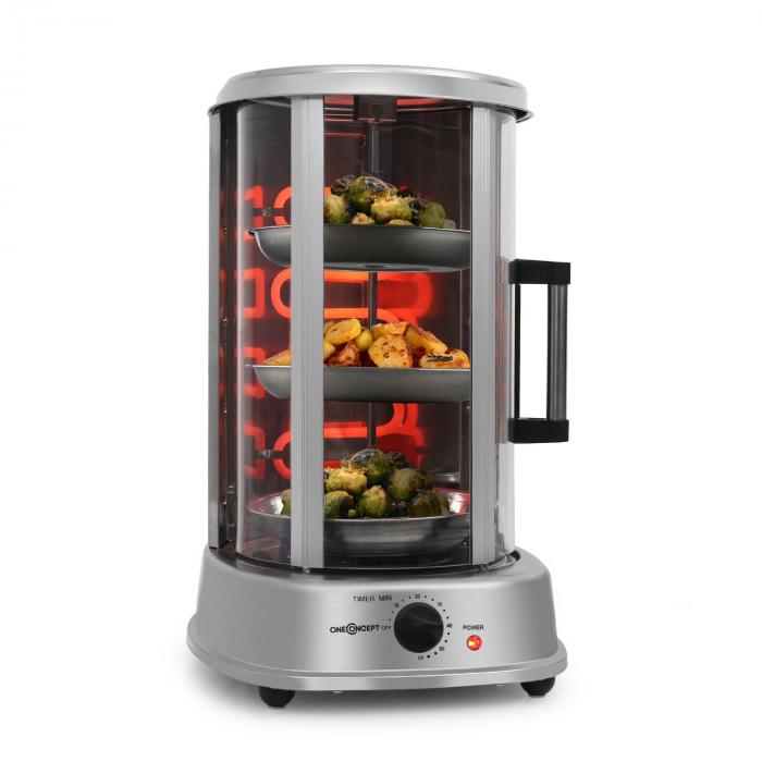 Food Tray Parrilla para barbacoa Accesorio para Kebab Master Pro 2 unidades de acero inoxidable
