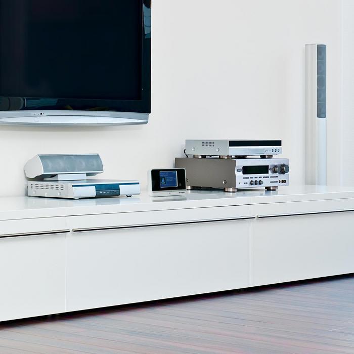iAdapt 320 Internet Radio Adapter WLAN DAB / DAB + AM / FM TFT Display White