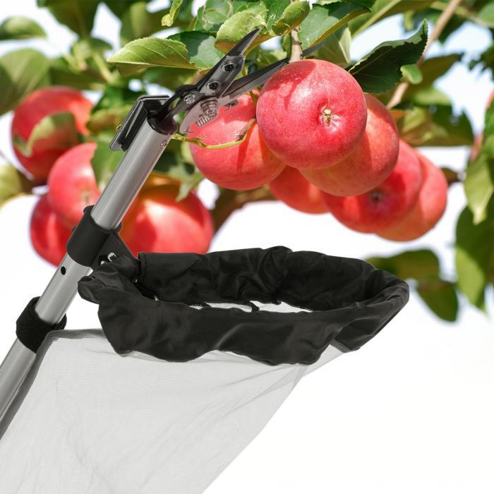 Big Apple omenanpoimija teleskooppivarsi 1,35-3m alumiini leikkuri