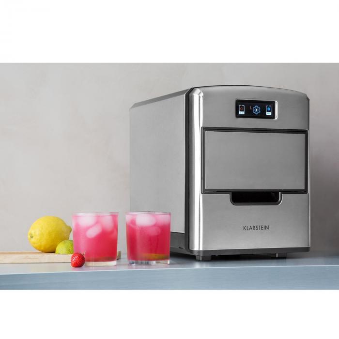 Metropolitan máquina de cubitos de hielo 12kg/24hs display digital