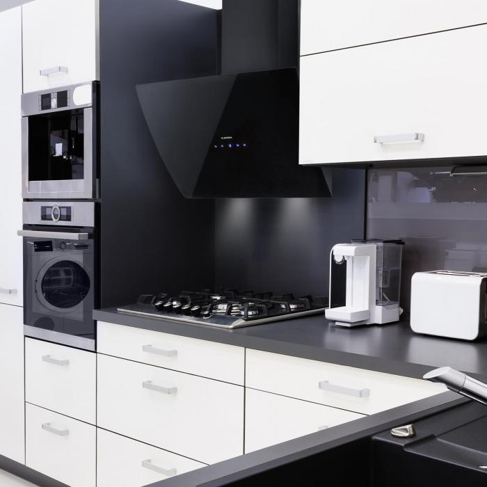 annabelle 60 dunstabzugshaube glas 650 m h touch armatur schwarz online kaufen elektronik. Black Bedroom Furniture Sets. Home Design Ideas