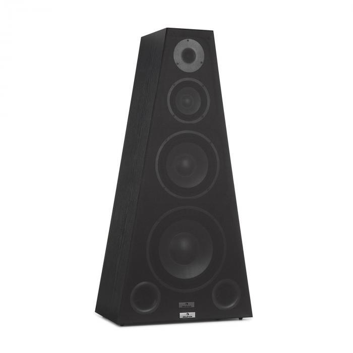SP-800 wieża hi-fi 4-drożna piramida 330 W czarna