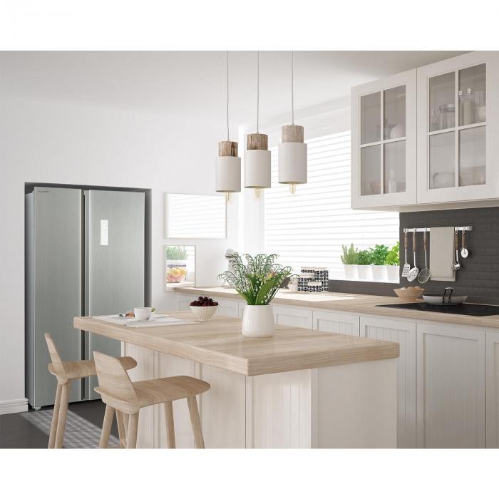 grand host a k hl gefrierkombination einstiegsmodell 474 liter silber online kaufen. Black Bedroom Furniture Sets. Home Design Ideas