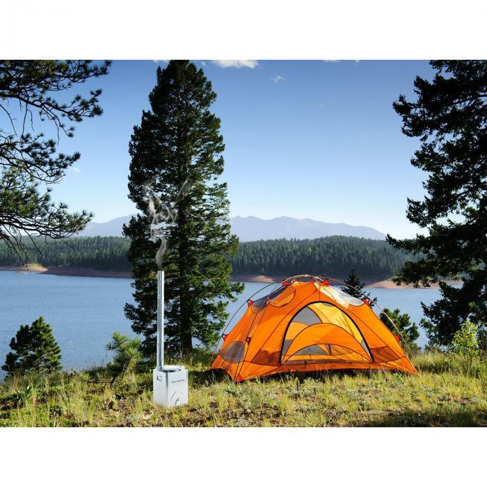 Survivalist Forno a Razzo Forno da Campeggio Ecologico Mobile Acciaio