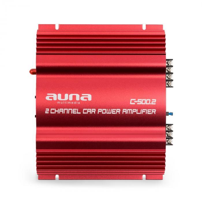 """Set Car Audio """"Ording"""" 0,1 sistema con potenza 1000W Bass & Amplificazione"""