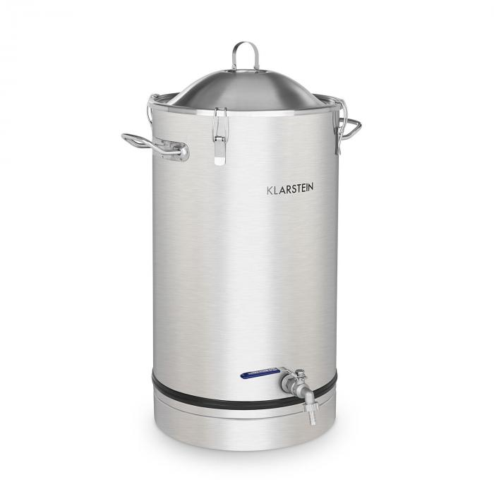 Maischfest tanque de fermentación 25 litros barril acero inoxidable 304
