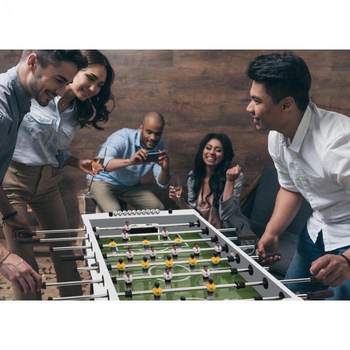 Maracanã Kickertisch Turniermaße Naturkorkbälle Getränkehalter