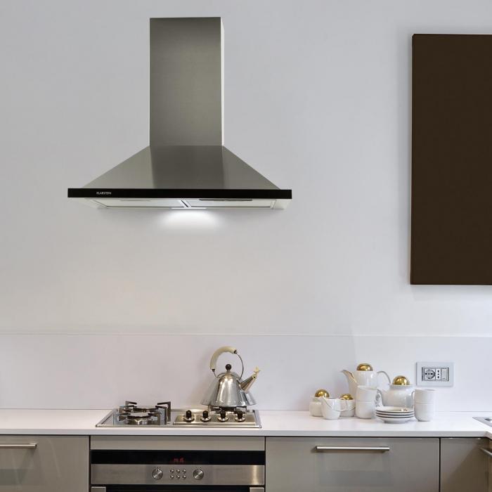 galina dunstabzugshaube abluft 60 cm 350 m h led edelstahl acrylglas online kaufen. Black Bedroom Furniture Sets. Home Design Ideas