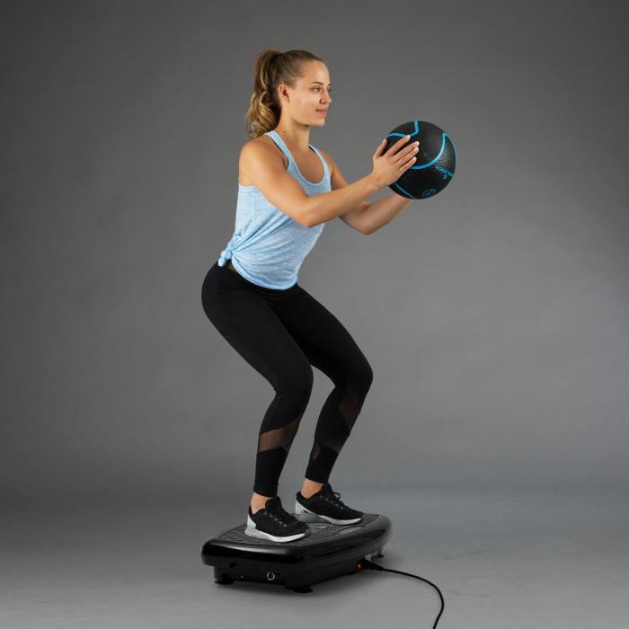 Vib 1000 Vibration Plate 5 Modes Adjustable Duration & Intensity Black