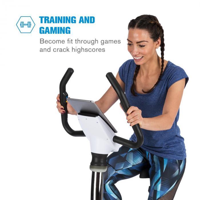 Arcadion Trenażer domowy /Gaming bike pulsometr Bluetooth uchwyt na kierownicy b