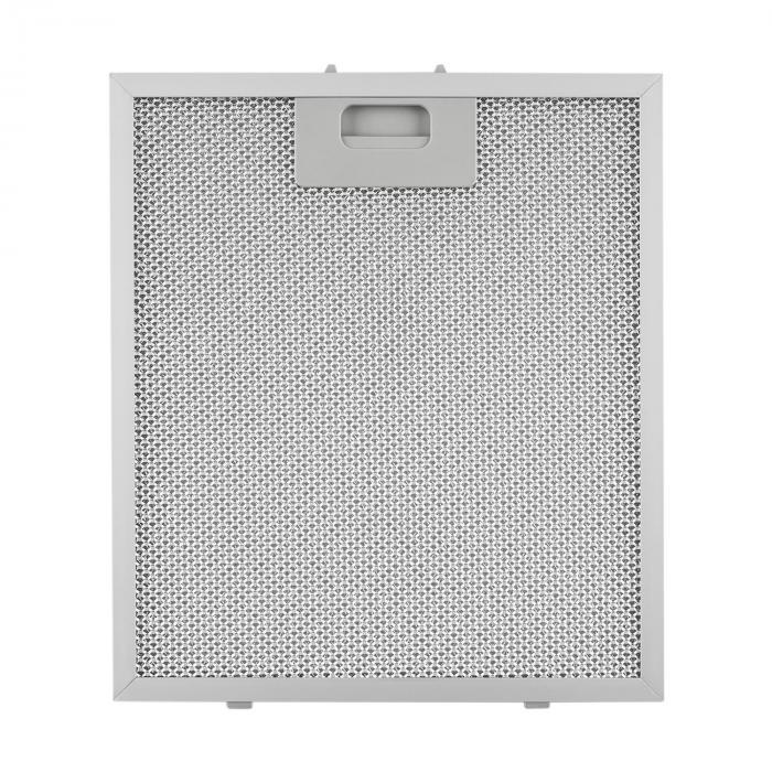 Aluminium-Fettfilter 25,8 x 29,8 cm Ersatzfilter 2 Stück Zubehör