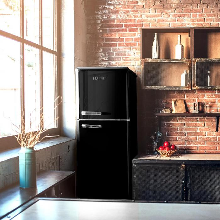 audrey retro retro k hl gefrier kombination 194 56 liter. Black Bedroom Furniture Sets. Home Design Ideas