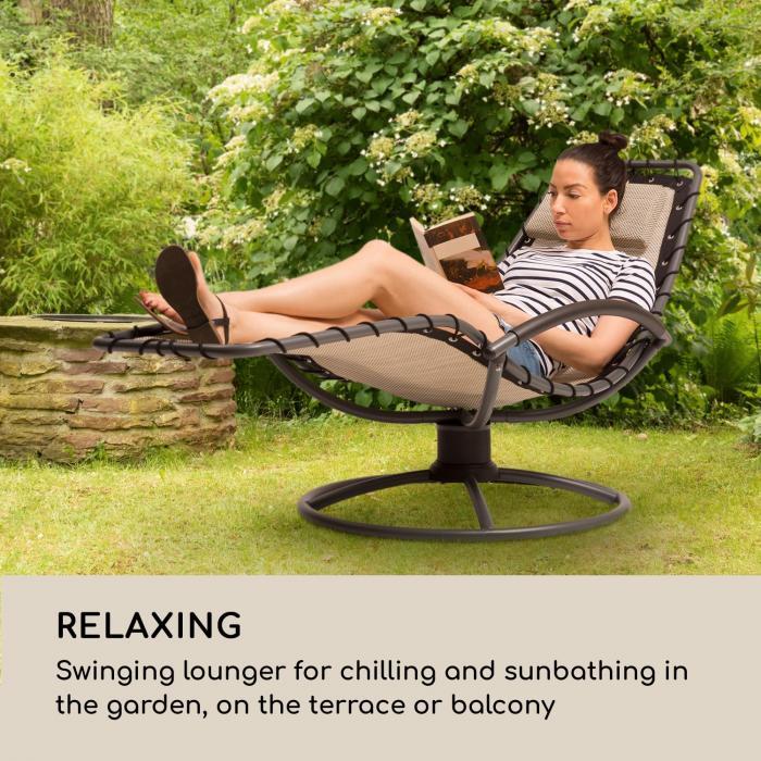 The Chiller riipputuoli 77 x 85 x 173 cm 360 Comfort ComfortMesh beige