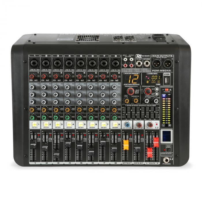 PDM-M804A 8 mikrofonisisääntuloa 24-bittinen Multi FX -prosessori USB-soitin