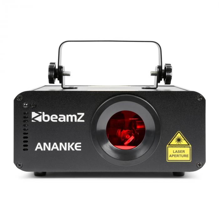 Ananke Laser 3D Red, Green And Blue DMX/Stand-alone Mode