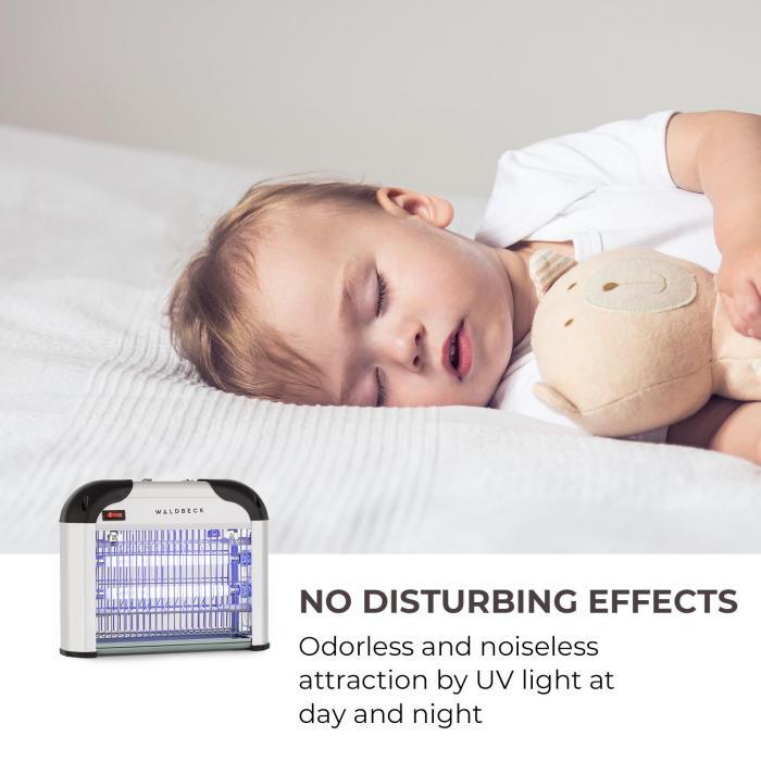 Mosquito Ex 3000 Insetticida, 16 W, Luce UV, Efficace fino a 40 m²