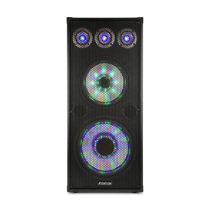"""TL 810 LED Enceinte PA sono 8"""" (20cm)  avec LED 122dB 700W max"""