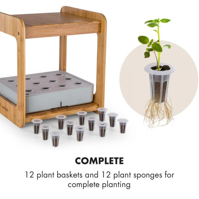 Urban Bamboo reFresh Kit per Coltivazione Idroponica | Set Accessori