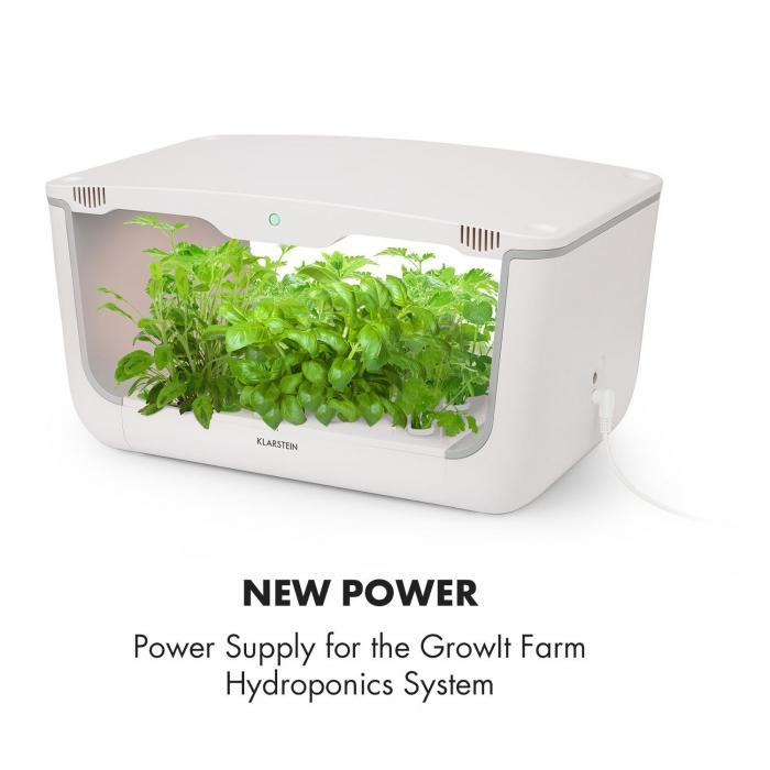 GrowIt Farm Smart Indoor Garden utbytesnätdel 24V/2A