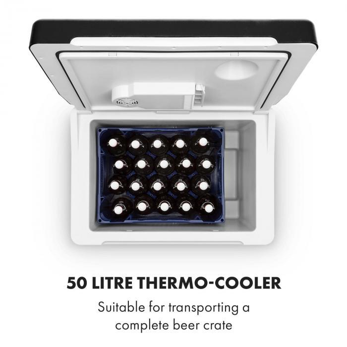 BeerPacker borsa termica  litri A+++ AC/DC trolley nero