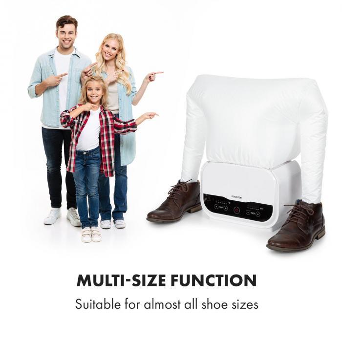 ShirtButler Pro -kenkäosa lisäosa kenkienkuivain nailon valkoinen