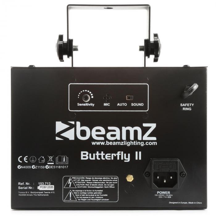 Butterfly II LED Mini Derby 6x3W RGBAWP IR