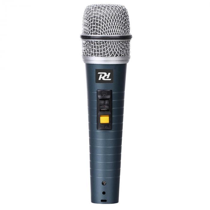 Power Microfono XLR dinamico Dynamics PDM663 Con Cavo Asta e Adattatore