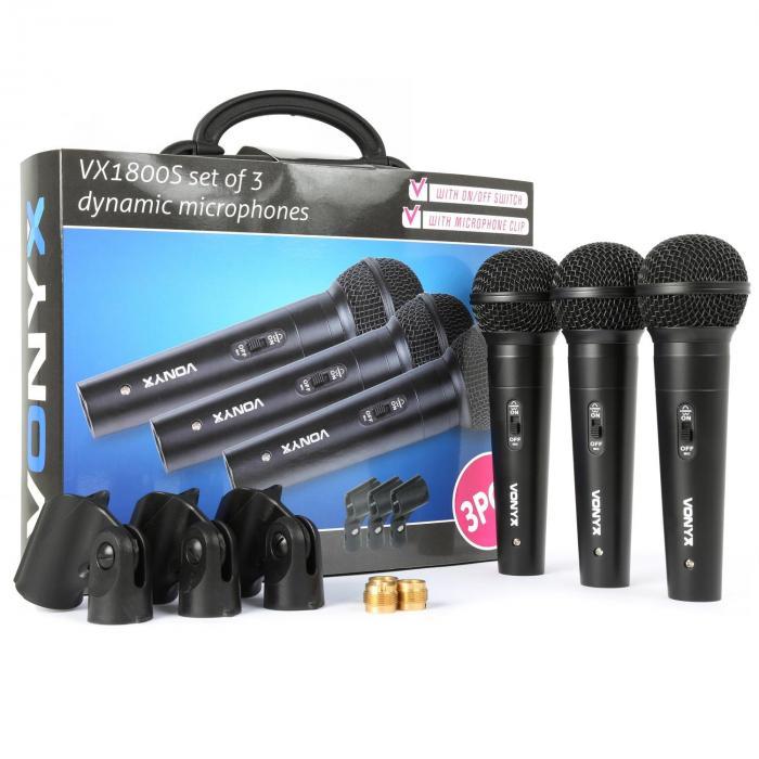 XLR VX1800S Set per microfono dinamico