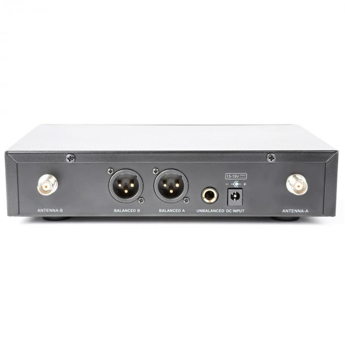 PD781 langaton 2 x 8-kanava-UHF-mikrofonijärjestelmä