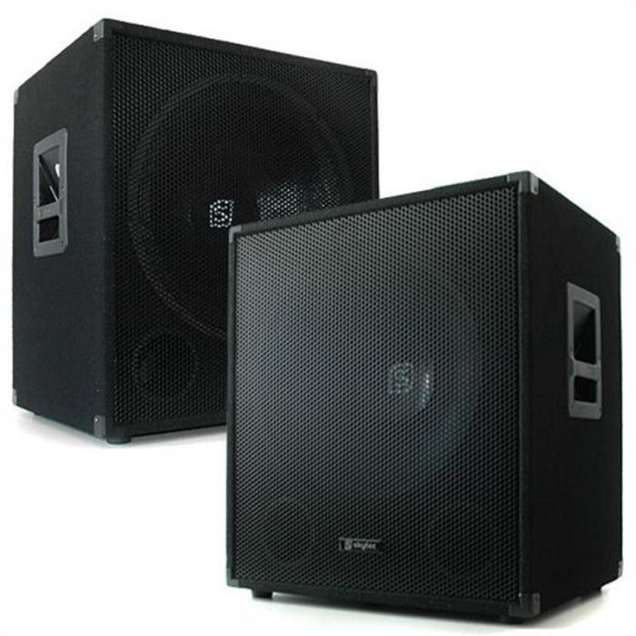 """DJ PA SET """"Lewis 1200 Bass Tornado"""" 38cm 1200W"""
