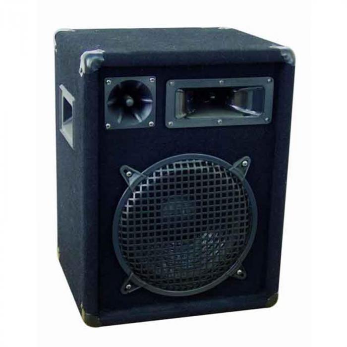DJ PA Set Verstärker Lautsprecher Mikrofon