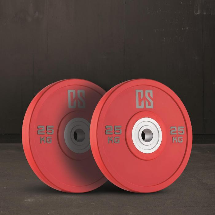 Performan uretaanipainot levypainopari 25kg punainen