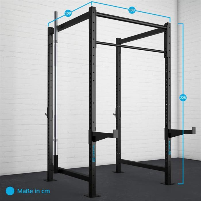 Dominate Edition Set 6 Base Rack Set Completo Acciaio Nero