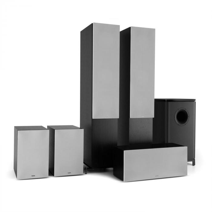Reference 851 5.1-Soundsystem schwarz inkl. Cover silber