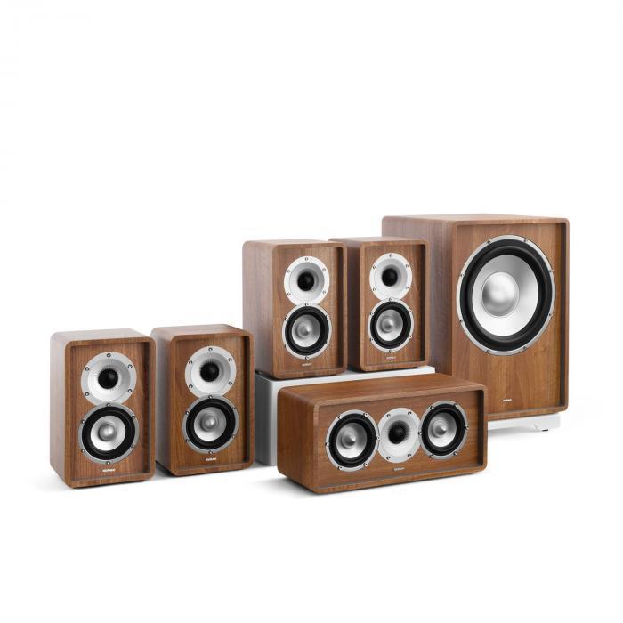Retrospective 1979-S 5.1 Soundsystem noce incl. Cover marrone