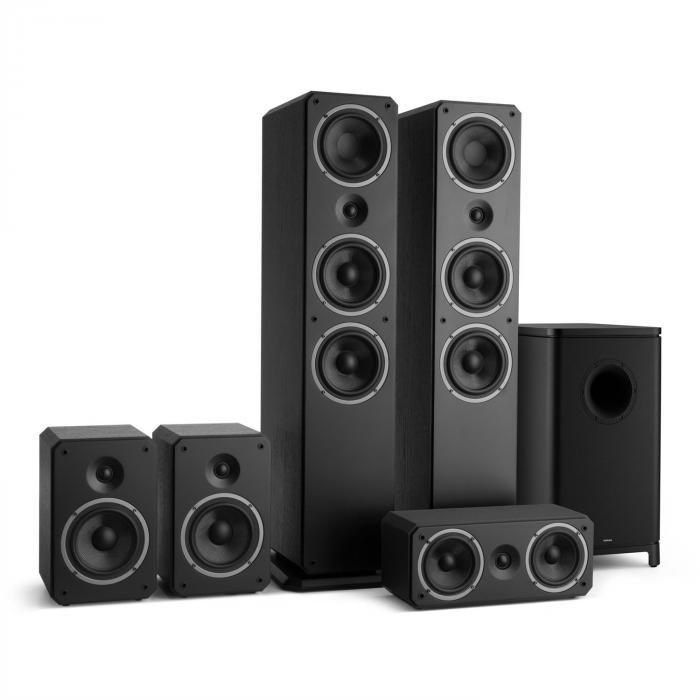 Octavox 751 MKII 5.1 Soundsystem schwarz