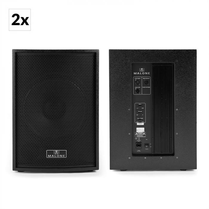Black Box 6 Casse Acustiche PA 4 x Subwoofer 2 x Satelliti Inclusi Cavi PA