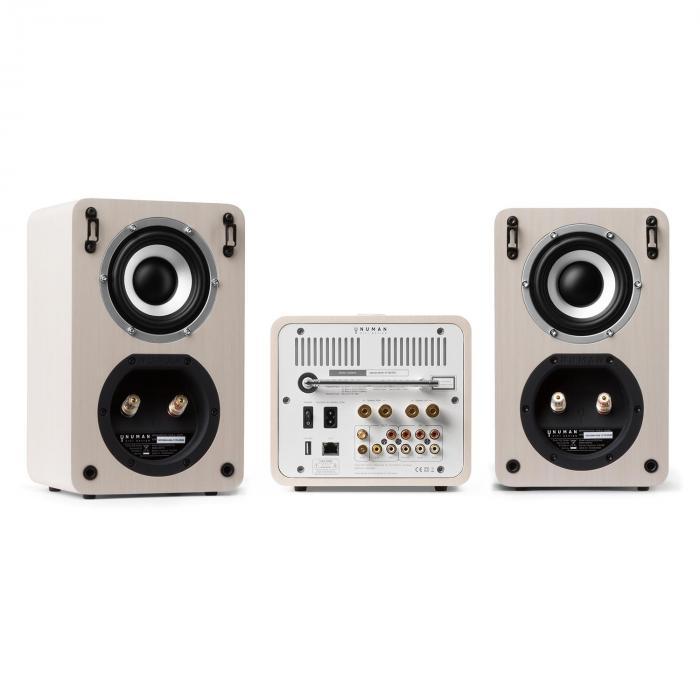 Unison Retrospective 1979S Edition – Stereoanlage Verstärker Boxen + Cover